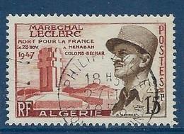 """Algerie YT 345 """" Appel Du 18 Juin 1940 """" 1957 Oblitéré - Oblitérés"""