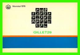 OLYMPIADES - PRICTOGRAMMES OFFICIELS DES JEUX DE LA XXIe OLYMPIADES, MONTRÉAL, 1976 - MESSAGERIES DYNAMIQUES INC - - Olympic Games