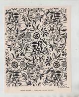Henri Gillet Papier Peint Ou Toile Imprimée 1930 - Non Classificati