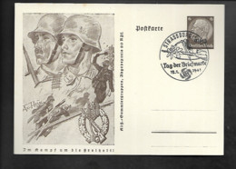 DR GA Besetzung Elsaß SSt Straßburg / Wehrmachtsoldaten - Militaria