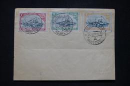 URUGUAY - Série Du 83è Anniversaire De L 'arrivée Des Fondateurs De La République Sur Enveloppe En 1908 - L 95060 - Uruguay