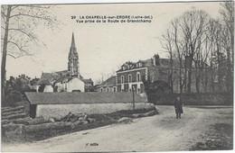 44   La Chapelle  Sur Erdre  - Vue Prise De La Route De Grandchamp - Other Municipalities