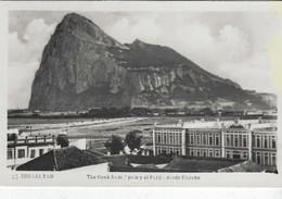 GIBRALTAR - THE ROCK FROM SPAIN - Gibraltar
