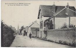 44   La Chapelle  Sur Erdre  -  La  Route De Nantes Vers L'eglise - Other Municipalities
