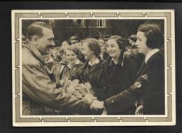 DR GA Geburtstag Hitler - Gratulierende Mädchen - Militaria