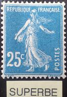 R1491/279 - 1907 - TYPE SEMEUSE CAMEE - N°140 (IA) NEUF** LUXE - CENTRAGE PARFAIT - 1906-38 Säerin, Untergrund Glatt