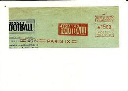 Lettre EMA Havas 1954 Journal France Football Sport 75 Paris  C39/37 - Non Classificati