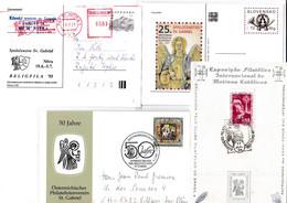 Anges : Archange Gabriel, Gilde St-Gabriel, 20 Documents, Oblitérations, Timbres ** - Christianity