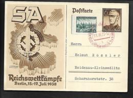 DR GA SA Reichswettkämpfe SSt Prag - Militaria