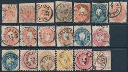 O 1850-1868 19 Db Bélyeg / 19 Stamps - Non Classificati