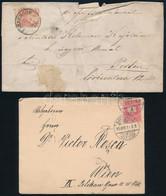 35 Magyar Küldemény 1871-1970 / 35 Hungarian Covers, Postcards - Non Classificati