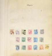 O Magyar Gyűjtemény 1874-1930 22 Albumlapon, Jobb értékekkel / Hungary Collection 1874-1930 On 22 Album Pages - Non Classificati