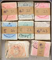 O 8 Db Krajcáros Bündli Kis Dobozban, Bélyegzésekre Illetve Lemezhibákra átnézetlen / 8 Bundles Of 100 From 1874-1899 - Non Classificati