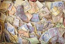 O 1-2 Ezer Db Turul Bélyeg Dobozban ömlesztve / 1-2 Thousand Turul Stamps In A Box - Non Classificati