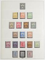 ** Tartalmas Magyar Gyűjtemény 1913-1944 Több Jó Kiadással Lindner Falcmentes Albumban (660.000) / Serious Collection Wi - Non Classificati