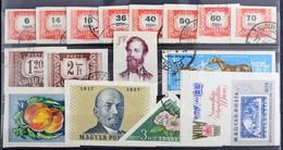 **, *, O Régi és Modern Magyar Bélyegek Berakólapokon, Albumlapokon, Hozzá Kevés Külföldi / Old And Modern Stamps On Sto - Non Classificati
