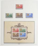** Tartalmas Magyar Gyűjtemény 1945-1957 Több Jó Kiadással Lindner Falcmentes Albumban (637.000) / Serious Collection Wi - Non Classificati