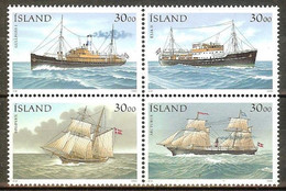 ISLANDE N°706/709** - Cote 15.00 € - Ungebraucht