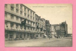 C.P. Knokke Aan Zee    =  Avenue  LIPPENS  :  Grand  Hôtel CENTRAL - Knokke