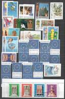 ** 1967-2010 Európa Motívum Gyűjtemény Az összes Sor és Blokk + Kisívek, 20 Db Díjjegyes Stb. / Europe Motif Collection  - Non Classificati