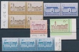 ** 1987-1992 Kis összeállítás Kastélyok Bélyegekből Stecklapon, Mindegyik Sihl Papíron (min 36.000) / Castle Stamps On S - Non Classificati