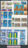 1991-2001 14 Klf Europa CEPT MINTA Négyestömb Berakólapon / 14 Different SPECIMEN Block Of 4 - Non Classificati