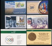 ** 1995-2000 6 Klf Bélyegfüzet (13.500) / 6 Different Stamp Booklets - Non Classificati