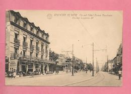 C.P. Knokke Aan Zee    =  Coin De L' Avenue  LIPPENS  :   Grand  Hôtel  PRINCE  BAUDOUIN - Knokke