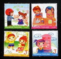 Thailand Stamp 2011 International Letter Writing Week - Tailandia