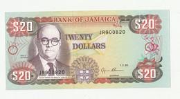 20 $ Jamaïque 1995 - Jamaica