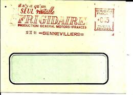 Lettre EMA Havas 1961   Un Seul Veritable Frigidaire Metier  92 Gennevilliers  C39/39 - Factories & Industries