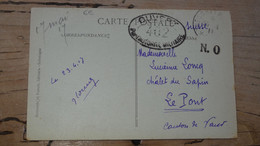 Carte Postale Avec Censure , Envoyée De SALONIQUE En 1917 ............. 201101d-4090 - Guerra De 1914-18