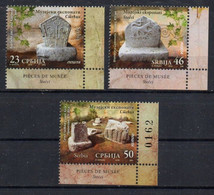 Serbia 2016. Tombstones, Museum Exhibits.  MNH - Servië