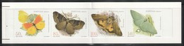 MADERE - CARNET N°200a ** (1998) Papillons - Madeira