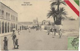 S8868 - TRIPOLI - Mercato Del Pane - Libya
