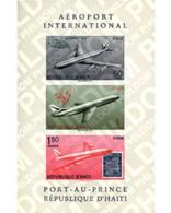 Ref. 97154 * MNH * - HAITI. 1960. AVIATION WEEK, PORT-AU-PRINCE INTERNATIONAL AIRPORT . SEMANA DE LA AVIACION. AEROPUERT - Haiti