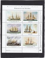 Vignette Musée De La Marine Portraits De Navires - Fantasy Labels
