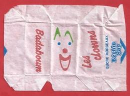 FR.- Suikerwikkel. Sucre Enveloppe. LES CLOWNS. BADABOUM. Sucre MORCEAUX. BEGHIN SAY.  Sugar. Suiker. Zucker - Sugars