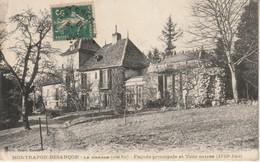 Montrapon - Besançon - La Grange (Côté Est) Façade Principale Et Tour Carrée. Edition Teulet. Circulée - B état. 2 Scan. - Besancon
