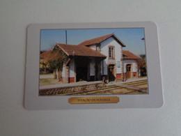Train Junta De Freguesia Do Entroncamento Estação De Vouzela Portugal Portuguese Pocket Calendar 2000 - Small : 1991-00