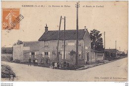 SEINE ET MARNE CESSON LE BUREAU DE TABAC ET ROUTE DE CORBEIL - Cesson