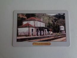Train Junta De Freguesia Do Entroncamento Estação De Ermida Portugal Portuguese Pocket Calendar 2000 - Small : 1991-00