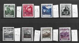 1932 MNH Liechtenstein, Mi 1-8 Postfris** (remark) - Official