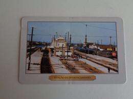 Train Junta De Freguesia Do Entroncamento Estação Do Entroncamento Portugal Portuguese Pocket Calendar 2000 - Small : 1991-00
