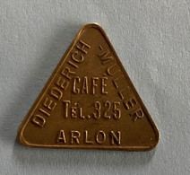 Arlon - Café Diederich Muller - Jeton De Café ( Province De Luxembourg ) - Altri