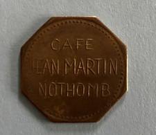 Nothomb - Café Jean Martin - Jeton De Café ( Province De Luxembourg ) - Altri