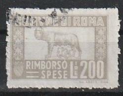 Roma. Marca Municipale (marca Comunale) Rimborso Spese L. 200 - Otros
