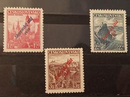Eslovaquia. 1939. Slovensky Stat 1939. 1'5, 2'5 Y 3 K.** - Nuevos