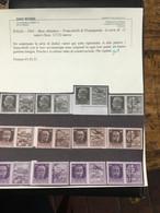 BASE ATLANTICA 1943 CERTIFICATA BIONDI SERIE COMPLETA CON SOPRASTAMPA AMBO I LATI** 333.000€ - Kriegspropaganda