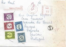 UK , 1981 , BANK OF IRELAND  Advertising Postmark , London , Portugal Porteado Stamps - Poststempel